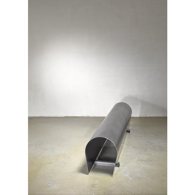 Contemporary Hozan Zangana Metal Bench, 2010s For Sale - Image 3 of 5