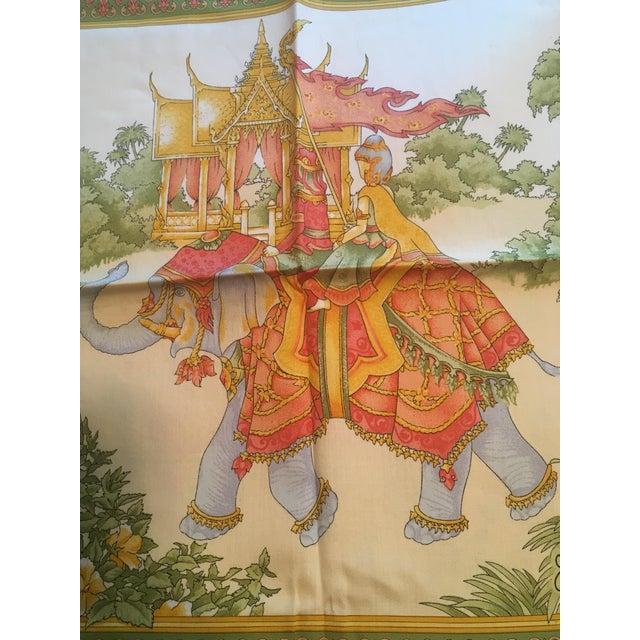 Jim Thompson Thai Silk Pillow Cover - Image 9 of 11