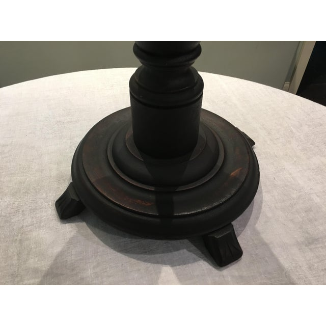 Wooden Victorian Plant Stand For Sale In Boston - Image 6 of 9
