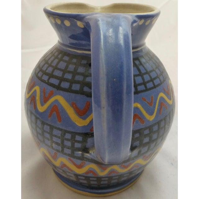 Mid-Century Italian Pottery Pitcher - Image 3 of 8