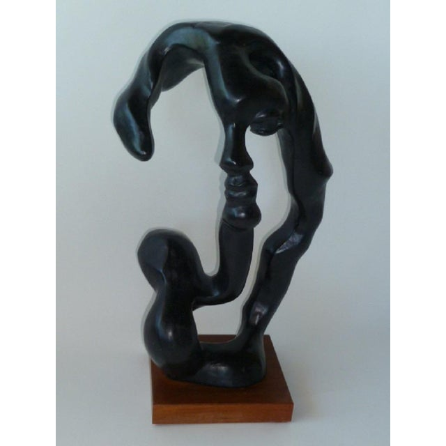 Modern Modern Surreal Portrait of a Woman Sculpture by Klara Sever For Sale - Image 3 of 6