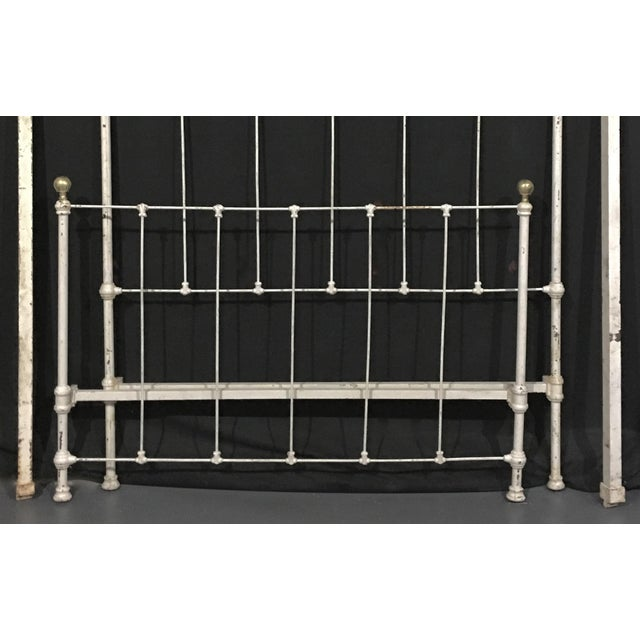 1900's Metal Bed Frame - Image 3 of 4