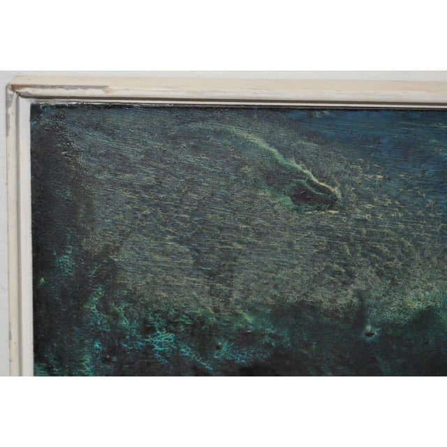 Mid 20th Century Mid-Century Modern Abstract Painting by Rita Robinson C.1961 For Sale - Image 5 of 11