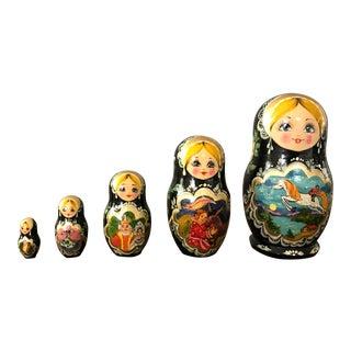 Russian Nesting Dolls - Set of 5