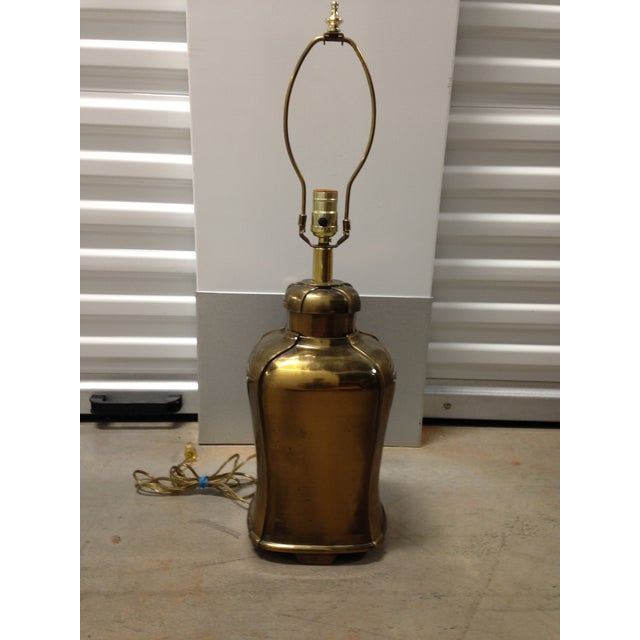 Brass Table Lamp - Image 4 of 6