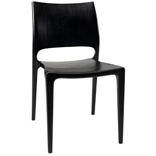 Suzu Chair, Charcoal Black For Sale