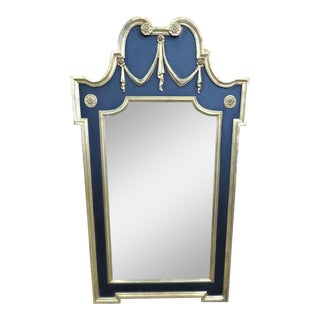 Jansen Style Carved Swag Mirror For Sale