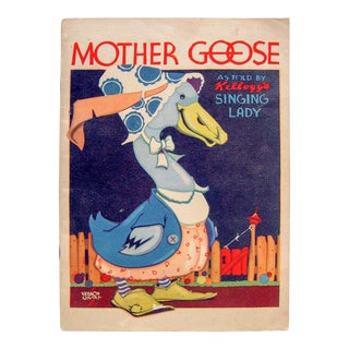 1933 Mother Goose as Told by Kellogg's Singing Lady For Sale