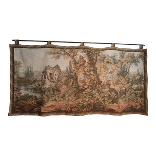 Francois Boucher Noble Pastorale Series Old Mill Wall Tapestry For Sale