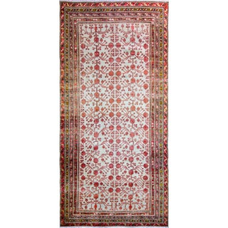 "Late 19th Century Khotan Rug-6'4"" X 13'3"" For Sale"