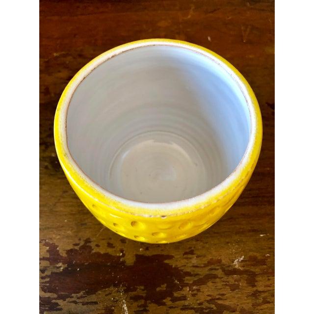 Italian Vintage Italian Pottery Lemon Jar For Sale - Image 3 of 6