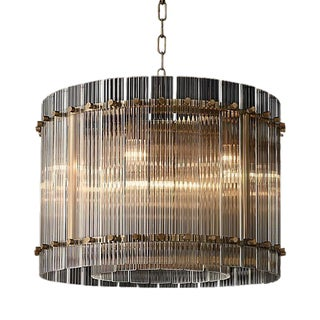 "Restoration Hardware San Marco One Tier Round Chandelier 22"" For Sale"