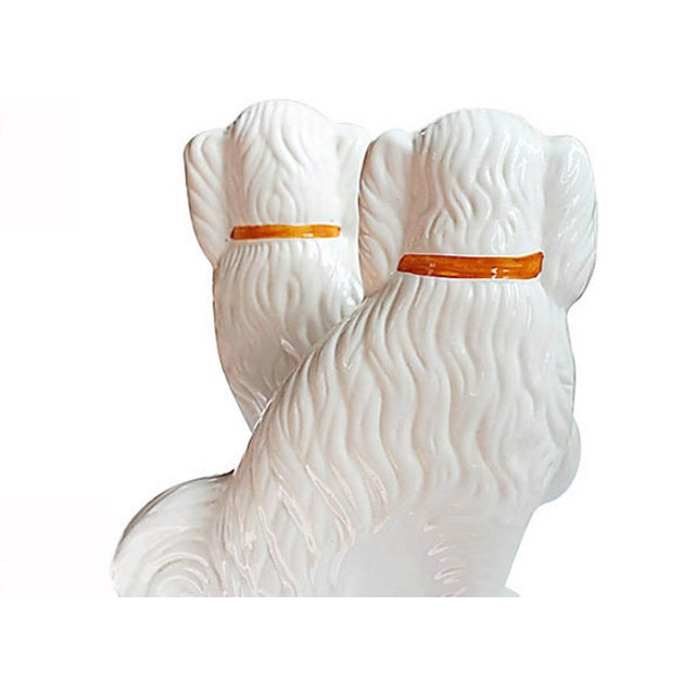 Pair of Vintage Ceramic Dogs - Image 2 of 4