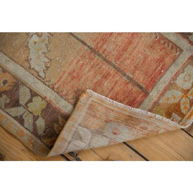 "Vintage Distressed Oushak Rug - 2'3"" x 3'5"" For Sale - Image 5 of 10"