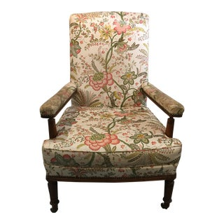 Napoleon III Arm Chair For Sale