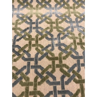 Cowtan & Tout Epingle Beverly Geometrical Fabric- 2 Yards For Sale