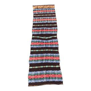 """Vintage Turkish Kilim Striped Runner Rug - 1'8""""x5'11"""" For Sale"""