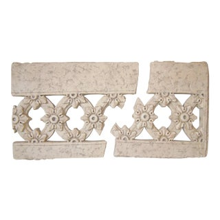 Faux Stone Wall Hangings - A Pair
