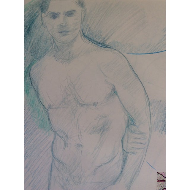 Male Nude Collage by James Bone 1990s For Sale - Image 4 of 5