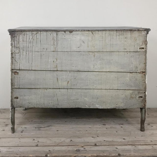19th Century Country French Regence Painted Commode For Sale - Image 12 of 13