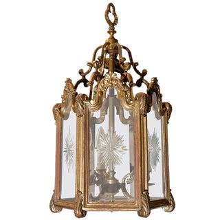 Rococo Style Hanging Lantern For Sale