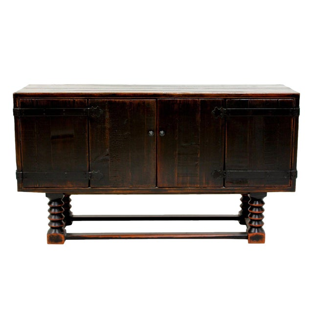 Sarreid LTD Zimmerman Style Ebonized Sideboard - Image 1 of 5