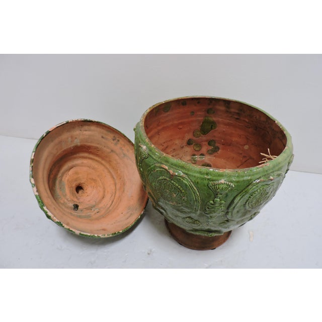 Arts & Crafts Antique Chinese Ginger Jar For Sale - Image 3 of 5