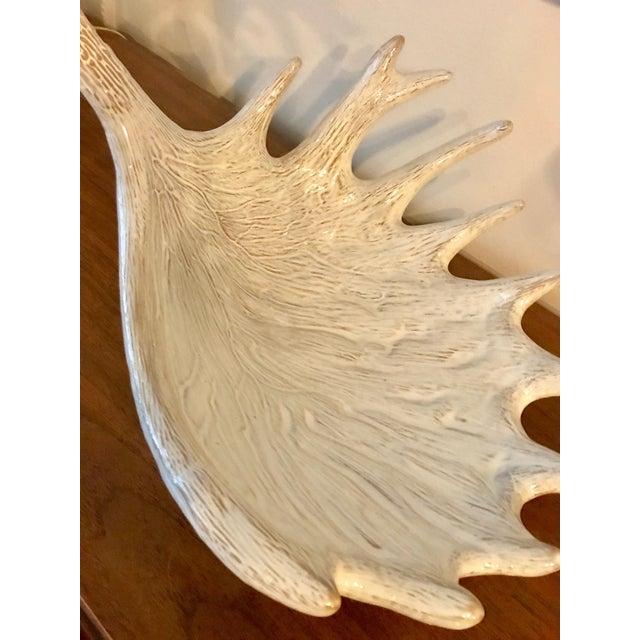 Ceramic Antler Decorative Bowl / Sculptural Display Object - Image 5 of 6