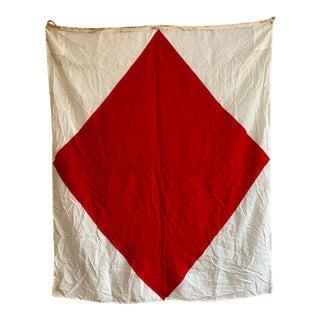 "Vintage ""f"" Nautical Flag For Sale"
