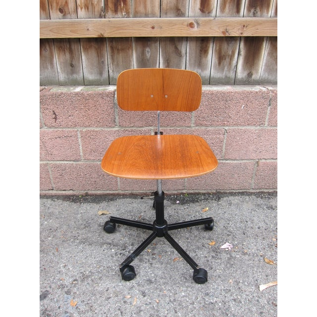 Mid-Century Modern Desk Chair - Image 4 of 8