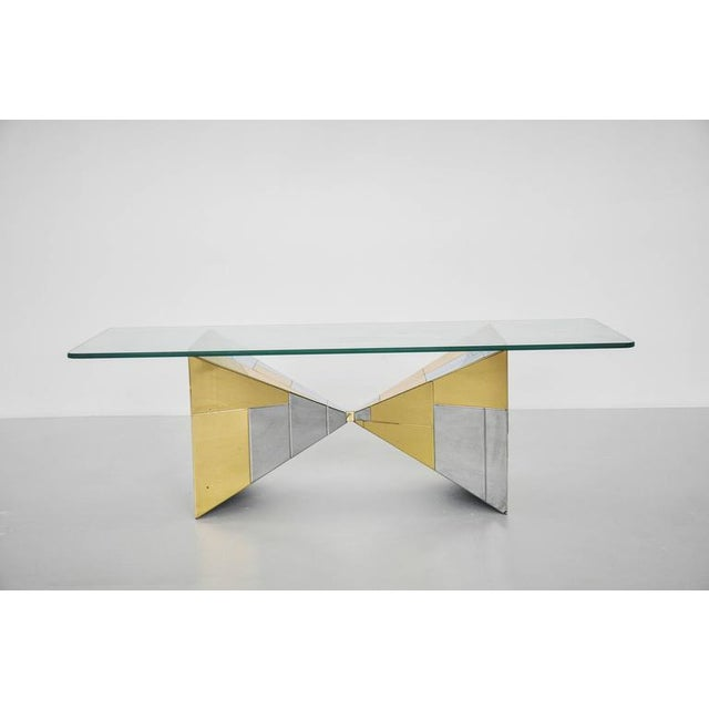Paul Evans Cityscape Coffee Table - Image 4 of 8