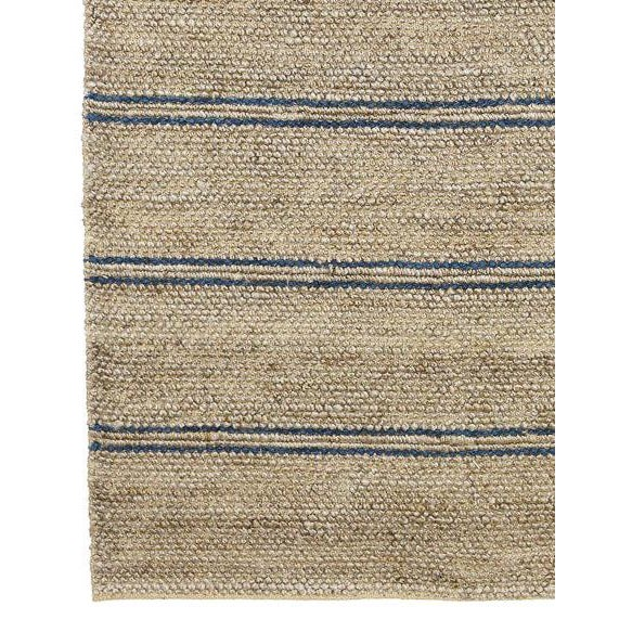 Indian Madrid Gray Jute Area Rug - 8′ × 10′ For Sale - Image 3 of 10