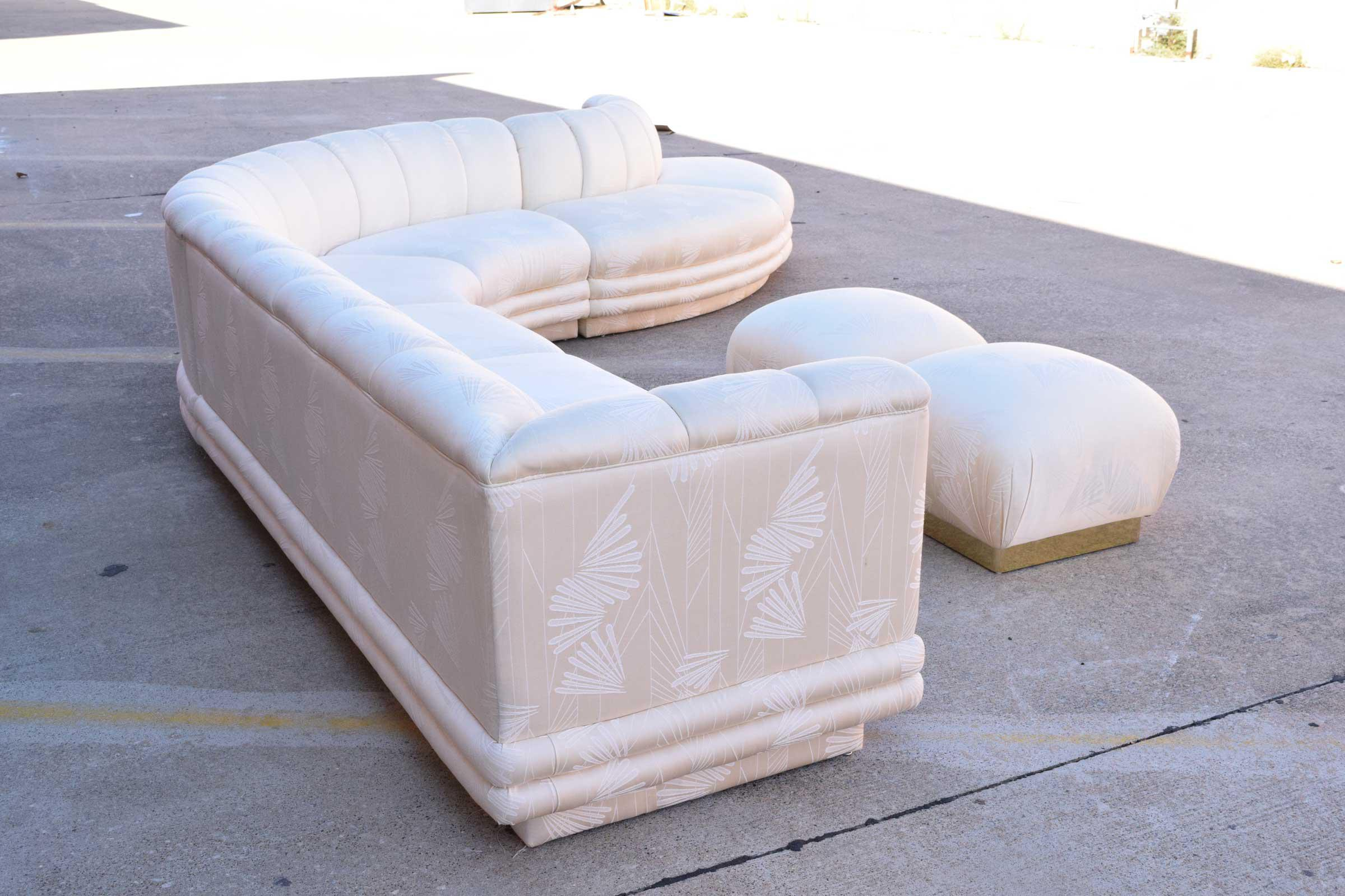 Vladimir Kagan Serpentine Sofa   Image 4 Of 10