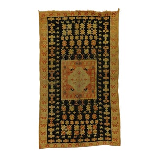 Vintage Berber Moroccan Rug with Boho Chic Modern Tribal Style