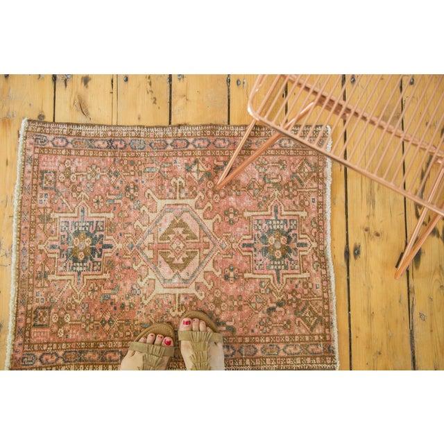 "Vintage Persian Karaja Square Mat - 2' x 2'5"" - Image 2 of 6"