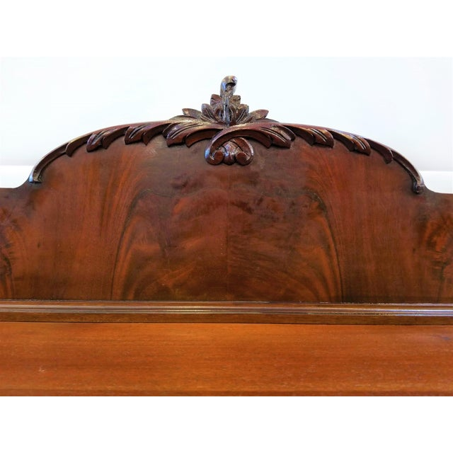 1900s 1898-1920 Cole Brothers Ltd. England Chippendale Revival Mahogany Sideboard For Sale - Image 5 of 13