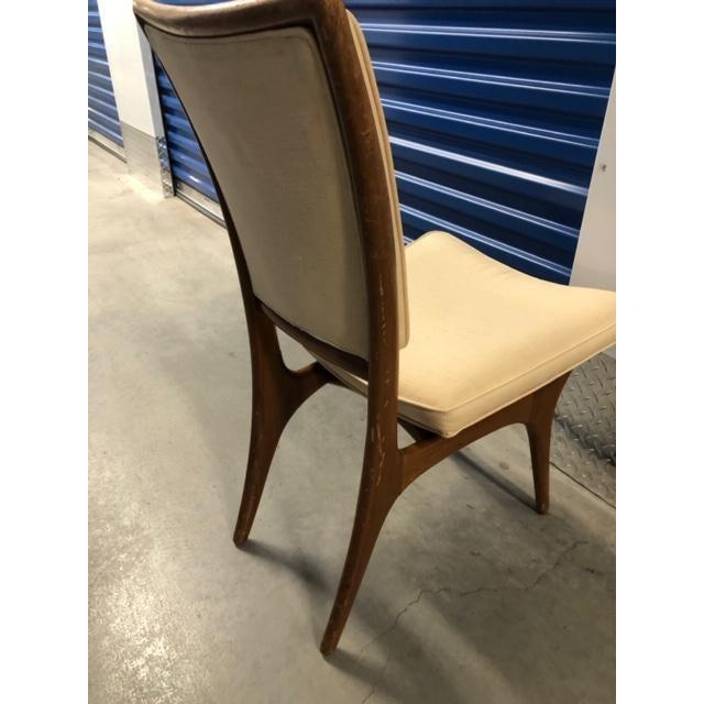 Mid-Century Modern Vladimir Kagan Mid-Century Armless Upholstered Chair For Sale - Image 3 of 7