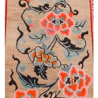Lotus Blossom Tibetan Rug Preview