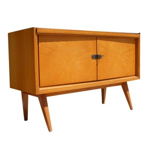 1960s Mid Century Modern Wood Credenza (Germany) For Sale