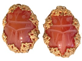 Image of Orange Earrings