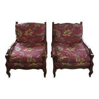 Fremarc Custom Knuckle Chairs- a Pair For Sale