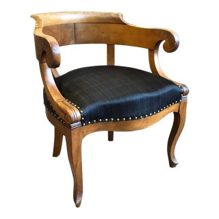 1820s Charles X Desk Chair For Sale
