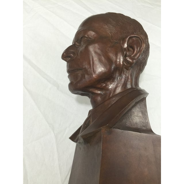 """Carl Mose Bronze """"Young King Henry"""" Bust For Sale - Image 10 of 11"""