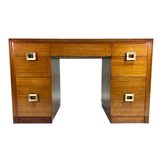 Mid Century Modern Desk by Red Lion For Sale