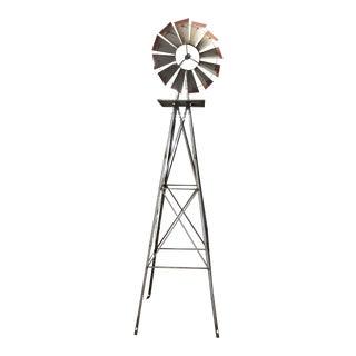 1930s Folk Art Windmill Garden Ornament For Sale