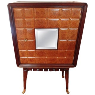 1950s Vintage Italian Paolo Buffa Attributed Nightstand For Sale