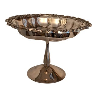 Onieda Candy Silverplate Footed Candy Dish
