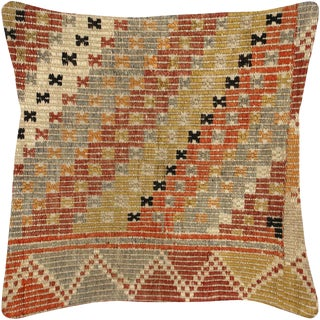 "Nalbandian - Turkish Jijim Pillow - 18"" X 18"" For Sale"