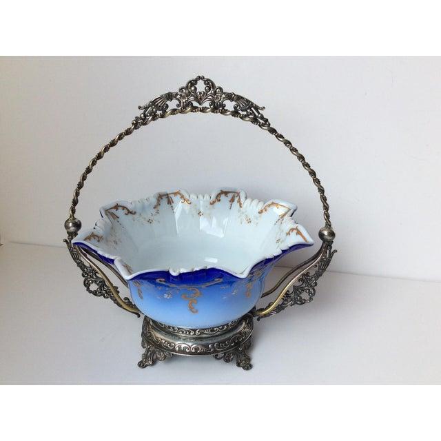 Wilcox Silver Victorian Brides Basket - Image 3 of 10