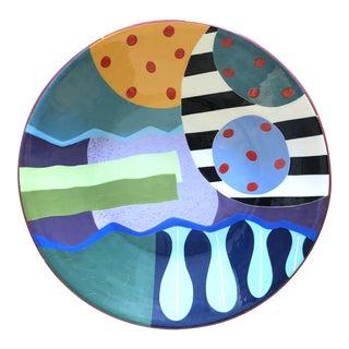 Post-Modern Colorful Ceramic Bowl